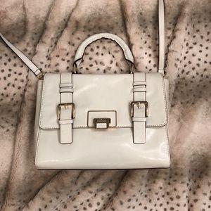 NWT white leather Antonio Melani purse